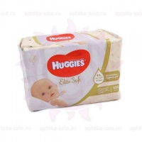 Салфетки влажные детские Хаггис элит софт N128