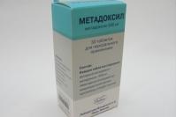 Метадоксил таб. 500мг №30