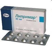 Липримар таб. п.п.о. 40мг №30