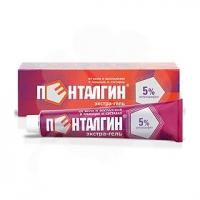 Пенталгин экстра-гель 5% 100г