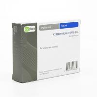 Азитромицин форте-OBL таб. п.п.о. 500мг №3