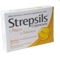 Стрепсилс таб. д/рассас мед-лимон №24