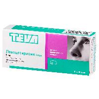 Левоцетиризин-Тева таб. п.п.о. 5мг №10