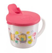 Хэппи беби чашка кружка тренировочная с крышкой training cup 15010