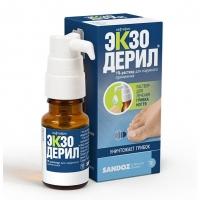 Экзодерил р-р наруж. 1% 10мл №1
