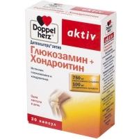 Доппельгерц актив глюкозамин+хондроитин капс. 1232мг №30