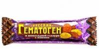Гематоген русский изюм 40г в шоколад глазури