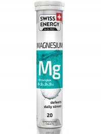 Свисс энерджи магнезиум+В комплекс таб. шип. №20