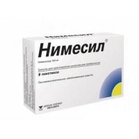 Нимесил гран. д/сусп. внутр. 100мг №9