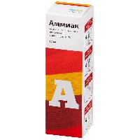 Аммиак р-р реневал р-р наружн. и д/ингал. 10% 25мл