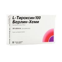 L-Тироксин 100 Берлин-Хеми таб. 100мкг №100