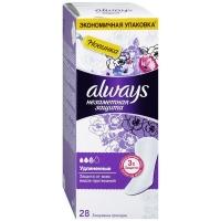 Прокладки ежеднев Олвейс незаметная защита арома экстра удлинненые N28