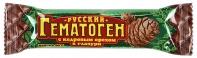 Гематоген русский кедровый орех 40г в шоколад глазури