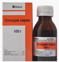 Солодка сироп 100г