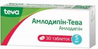Амлодипин-Тева таб. 5мг №30