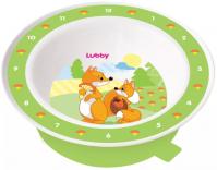 Лубби тарелка на присоске веселые животные 6+мес  (13954)