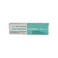 Синтомицин линимент 10% 25г №1