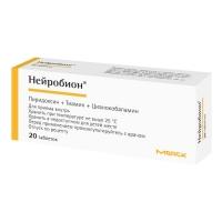 Нейробион таб. п.о №20