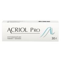 Акриол про крем 2,5%+2,5% 30г №1