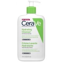 Цераве/cerave крем-гель увлажняющий очищающий д/нормальной и сухой кожи лица и тела 473мл  (MB100200)