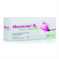 Магнелис B6 таб. п.о №50