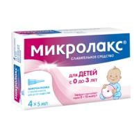 Микролакс беби р-р д/рект. введ. 5мл №4