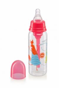 Хэппи беби бутылочка с силиконовой соской 250 мл 10015