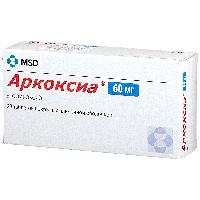 Аркоксиа таб. п.п.о. 60мг №28