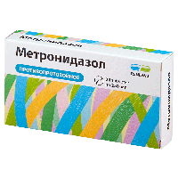 Метронидазол таб. 250мг №24  (Renewal)